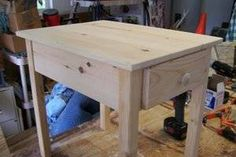 Build with our free end table plans designed for the woodworking beginner.