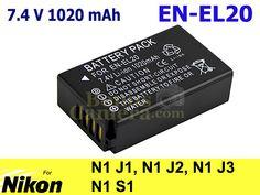 EN-EL20 แบตเตอรี่สำหรับนิคอน Nikon 1 J1,J2,J3,S1 Battery - คลิกที่นี่เพื่อดูรูปภาพใหญ่ 450.00 บาท