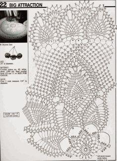 Kira scheme crochet: Scheme crochet no. 18