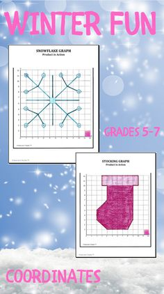 12 Holiday and Seasonal Themed Plotting Coordinates Graphing Worksheets that your students can use to practice and strengthen their skills with plotting coordinate pairs. Includes: #Jack-o-Lantern Graph #Pilgrim Hat Graph #Christmas Tree Graph #Fall Leaf Graph #Candy Corn Graph #Football Graph #Stocking Graph #Snowflake Graph #Star Graph #Candy Cane Graph #Gift Graph #Christmas Lights Graph