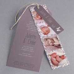 A creative birth announcement # baby card birth … Christening Invitations Girl, Baptism Invitations, Ideas Bautismo, Birth Announcement Sign, Baby Girl Baptism, Baby Birth, Baby Cards, Little Babies, Baby Love