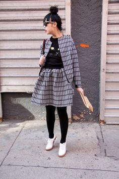 Susie Bubble at New York Fashion Week #StreetStyle