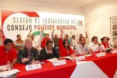 Con la asistencia de 180 consejeros, se tomó protesta al nuevo Consejo Político Municipal del PRI en Tequisquiapan, dentro de...