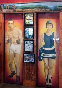Even the lavatories declare Astoria's Merry Time Bar & Grill a no-holds-barred sports dive.