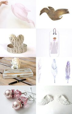 Angel wings by Caroline Mouran on Etsy--Pinned with TreasuryPin.com
