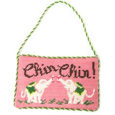 Chin Chin is a fabulous Lilly Pulitzer print coming for spring. The Pelican Girls are ready to raise a glass!