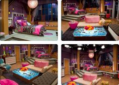 Carly's room from iCarly. Gosh, this is my dream room. Maybe a little less pink and girly but I love everything else. Icarly Bedroom, Teen Bedroom, Bedroom Decor, Awesome Bedrooms, Cool Rooms, Dream Rooms, Dream Bedroom, My New Room, My Room