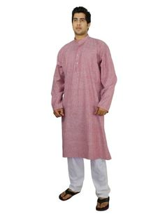 Men's Clothing Traditional Outfit Kurta Pajama Set For Men, Cotton Size L ShalinIndia,http://www.amazon.com/dp/B00J4LF9CK/ref=cm_sw_r_pi_dp_mALptb1KX7TNJ6VY