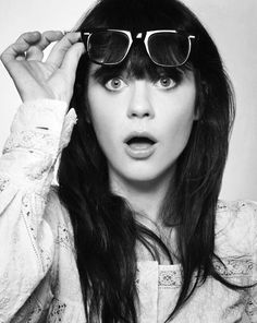 Zoey Deschanel. Love her in everything I have seen her in