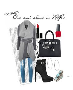 """Untitled #1297"" by cecilia-rebecca-stagrum-buch on Polyvore featuring Michael Kors, Hermès, Frame Denim, Jane Norman, Yves Saint Laurent, Lord & Berry, OPI and Charlotte Russe"