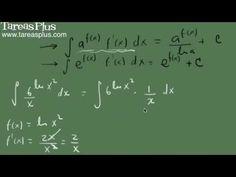 Integral de la función exponencial