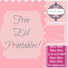 Un-Domesticated Dabbler: Eid Printables-Free