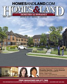-- Volume 5 Issue 2 -- Homes&Land Demeures & Domaines by Rosetta Gentile & Lyne Grenier