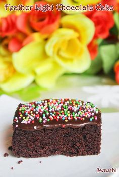 Easy chocolate cake recipe for beginners