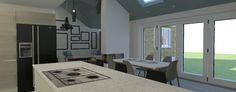 Hot House, Portfolio Images, 3d Visualization, Conference Room, Divider, Interior Design, Table, Furniture, Home Decor