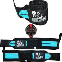 Wrist Wraps (1 Pair/2 Wraps) for Weightlifting/Crossfit/Powerlifting/Bodybuilding – For Women