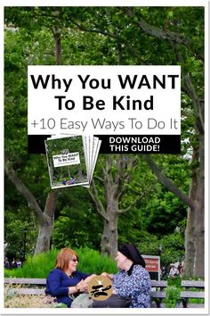 Why You WANT To Be Kind (+ 10 Easy Ways To Do It)   Does kindness, a 700-year-old word, have a place in this busy modern world? And if it does, why would we want to make time for it? Click through to read the benefits of kindness & 10 easy tips to start being kind.