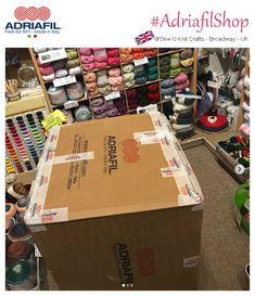 #adriafilshop... riassortimento estivo, novità 2019... c'è chi non perde tempo! Sew U Knit Crafts - Susan Bennett - UK