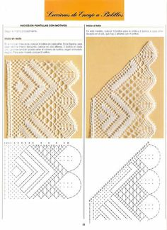 Nice patterns here Filet Crochet, Crochet Lace Edging, Crochet Borders, Bobbin Lacemaking, Bobbin Lace Patterns, Lace Heart, Point Lace, Lace Jewelry, Tatting Lace