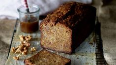 The riper the bananas, the better the banana bread, writes Jill Dupleix. She puts a decadent twist on this cafe staple, adding salted caramel sauce and a scoop of ice-cream.
