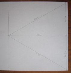 Voici une carte en forme d'étoile, trouvée sur un site étranger, et adaptée à ma façon. Commencer par dessiner un triangle de 21cm de... Kirigami, Card Tutorials, Mini Albums, Stampin Up, Templates, Cards, Voici, Pop Up, Couture