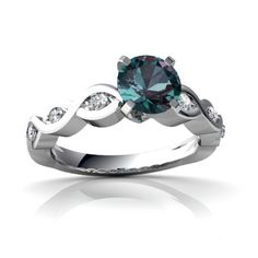 alexandrite ring as engagement ring