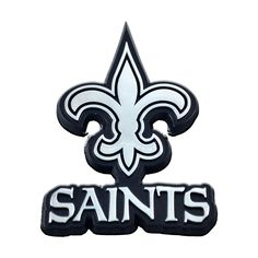 New Orleans Saints Logo, Saints Football, Football Fonts, Nfl Logo, Team Logo, Mould Design, Mascot Design, Memorable Gifts, Chrome Plating