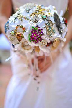 brooch bouquet...