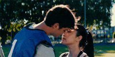 "When Lara Jean walked straight through lacrosse practice to say she'd ""fake"" date Peter, and his immediate reaction was to grin and kiss her. 27 Times ""To All The Boys I've Loved Before"" Totally Made Us Swoon Lara Jean, Lacrosse, Movie Couples, Cute Couples, Love Movie, I Movie, Peter K, Jean Peters, Youtubers"