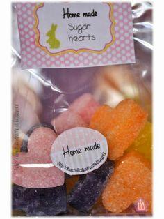 Cuoricini di zucchero e buona Pasqua