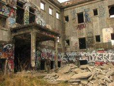Haunted Western State Asylum.  Lakewood, WA.