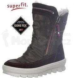 Detská zimná obuv Superfit 7-00215-67 Mahagony kombi