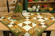 Cinnamon Spice of Life Tablecloth | FaveQuilts.com