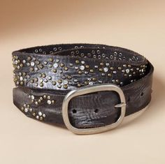 Studs & Sparkle belt/bought
