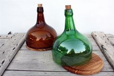 For Cheese. Cut Bottle to Sit on  Board With Groove.