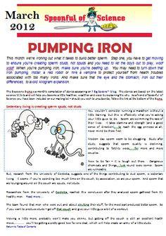 The March Edition of E-spoons gets you moving a little more and makes you take a second look at iron, a two edged sword.  To download it, click to download. Pumping Iron, Spoons, Sword, You Got This, March, Science, How To Make, Its Ok, Flag