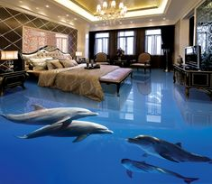 Home sweet Home ❁ Smart Dolphins 077 Floor Mural Silk Sheets - Should We All Have Them?