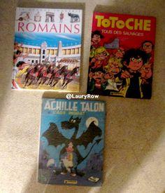 Diverses Livres.  @LauryRow.