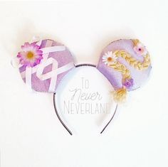 Rapunzel Mickey Minnie Mouse Ears