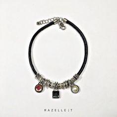 #metaljewelry#mixedstone#leatherjewels Metal Jewelry, Pandora Charms, Charmed, Bracelets, Bracelet, Arm Bracelets, Bangles, Super Duo