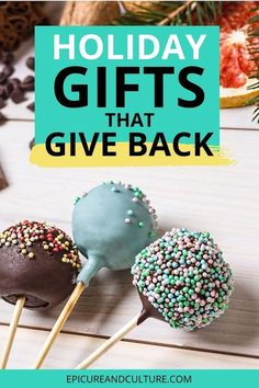 Looking for holiday gifts that give back to charity and support causes? Here is 10+ great gifts that donate to charity and help those in need. // #UniqueGifts #GiveBack #Charity #HolidayGifts Unique Presents, Unique Gifts, Best Gifts, Chocolate Covered Espresso Beans, Responsible Travel, Sustainable Tourism, Restaurant Guide, Donate To Charity, Packing Light