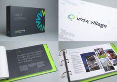 Campus Living Villages | Brand Identity on Behance
