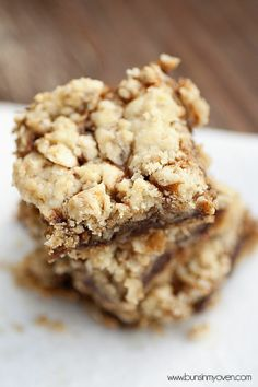Carmelitas  Oatmeal carmel cookies bars. need refrigeration after  so crumbly and soft without.