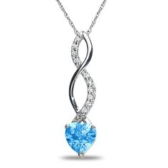 Jet NissoniJewelry presents - .05CT Diamond Blue Topaz Pendant in 10k White Gold    Model Number:PV5140A-W077BT    https://jet.com/product/05CT-Diamond-Blue-Topaz-Pendant-in-10k-White-Gold/c5128cc2b62349259a45b215a1d384ab