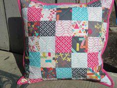 Mama's Crafts: Washi Patchwork Pillow