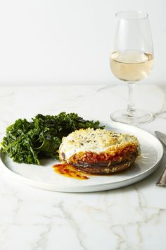 Good Housekeeping (December 2016): Portobello Parmesan