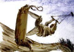 Kiki Verhagen: kitesurf tape