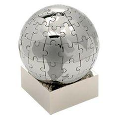 Personalised Puzzle Globe Jigsaw.