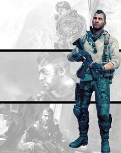 John 'Soap' MacTavish (Modern Warfare 2 and Call Off Duty, Character Concept, Character Art, Call Of Duty Zombies, Future Soldier, Military Pictures, Video Game Characters, Shadowrun, Modern Warfare