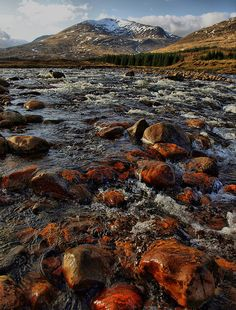 wild river........'Bridge of Orchy' (Scotland)